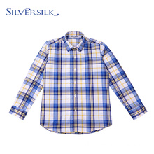 Dubai Check Student Full Sleeve Custom Boys Shirts