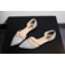 Низкая цена Необычные леди обувь 2016 плоский блестками обувь для женщин