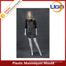 Hot sale fashion plastic mannequin mould with egg head
