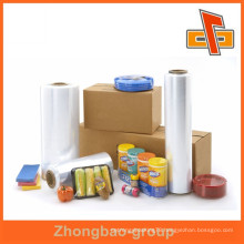 soft pe/hdpe/lldpe film grade plastic stretch wrap for supermarket manufacture