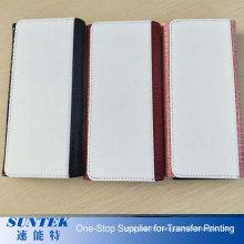 Sublimatioin Blank Tri-Fold Crocodile Hand Wallet Women PU Leather Wallets