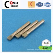 Chine Broche de broche de vente adaptée aux besoins du client par usine d'usine d'OEM