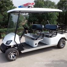 4seat carro de patrulha da polícia especial elétrica para venda