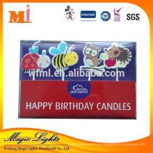 Sorten von Tier geformten Kerzen in PVC-Box