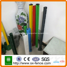 pvc coated metal fence posts
