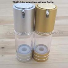 Flacon de 30ml en aluminium émulsion sans air presse
