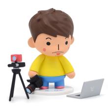 berühmte koreanische Comic Rotta Figur