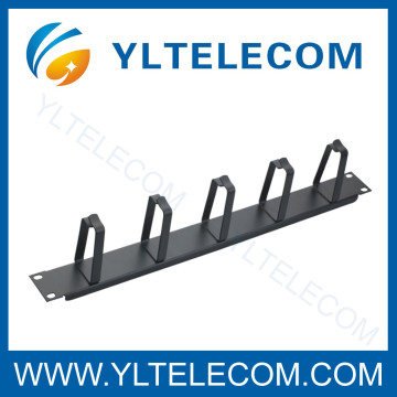 19 Inch Cable Manager With 5pcs Metal Ring