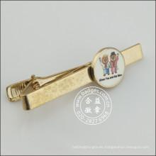 Clip de corbata con moneda linda, bolígrafo de oro (GZHY-LDJ-010)