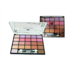 Multi colors eyeshadow red colors compact powders