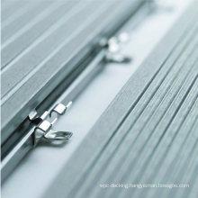 Easy Installation Carbon Steel Black Decking Fasten Clip Floor Clip WPC Accessories