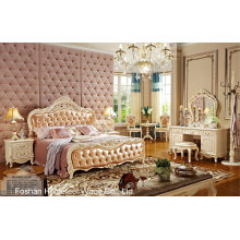 Best Quality Classical Wooden Bedroom Furniture Set (HF-MG820)