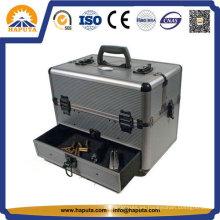 Caja de almacenamiento de arma de mano de aluminio de aluminio doble cara