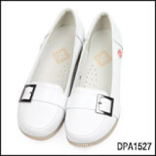 DALIBAI soft genuine leather nurse shoes for women with fashion design
