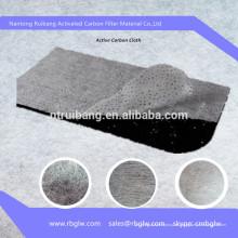активированный уголь волокна сандвича ткань фильтра