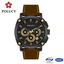 Fashion Chronograph Carbon Fiber Watch Men
