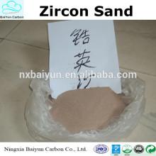 preço competitivo zircão areia 66%