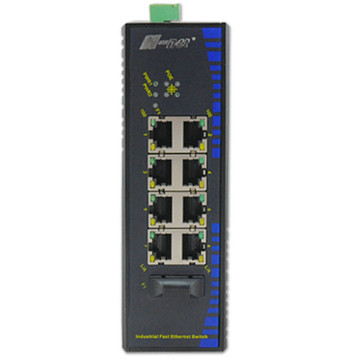 Switch PoE industriale multi-port 10 / 100M non gestito