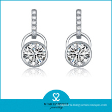Wholesale Simple Style 925 Silver Drop Earrings (SH-J0110)