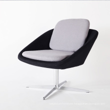 Stainless Steel Base with Fabric Soft Seat Recliner Chairs