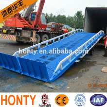 hot sale 10t mobile hydraulic container loading dock ramp/hydraulic lift for container