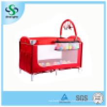 Популярная красочная кроватка для новорожденных со вторым слоем (SH-A12)