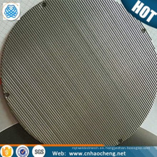 Resistencia a la corrosión 1 2 5 6 10 micrones sinterizados tela metálica tejida hastelloy para filtro de agua de mar