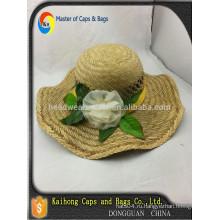 Ручная работа соломенная шляпа Соломенная шляпа / соломенная шляпка JAZZ
