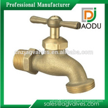 Durable latest cap connector brass water bibcock
