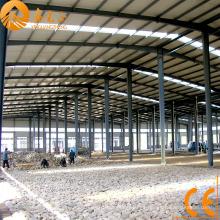 Almacén de estructura de acero ligero certificada CE (SSW-58)