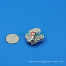 neo rare earth clothes pvc coated magnetic button