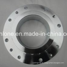 Forjamento de precisão e usinagem de peças de flange de aço
