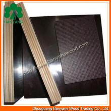 Contrachapado de madera contrachapada de película (1220 * 2440 mm) Contrachapado de construcción de alta calidad