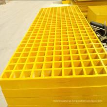 wholesale Platforms Decking composite anti-silp Fibreglass Reinforced Plastic FRP stock panel grating