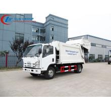 Exporter vers l'Amérique du Sud Camion à déchets ISUZU 8cbm
