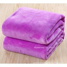 Jet de couverture pour bébé enfant en laine polaire (B14108-4)