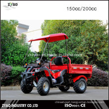Hot Deisgn 150cc 4 Wheeler ATV for Adults with Trailer
