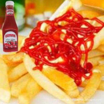 Alta Qualidade e Baixo Preço 340 G Ketchup De Tomate De China Atacadista