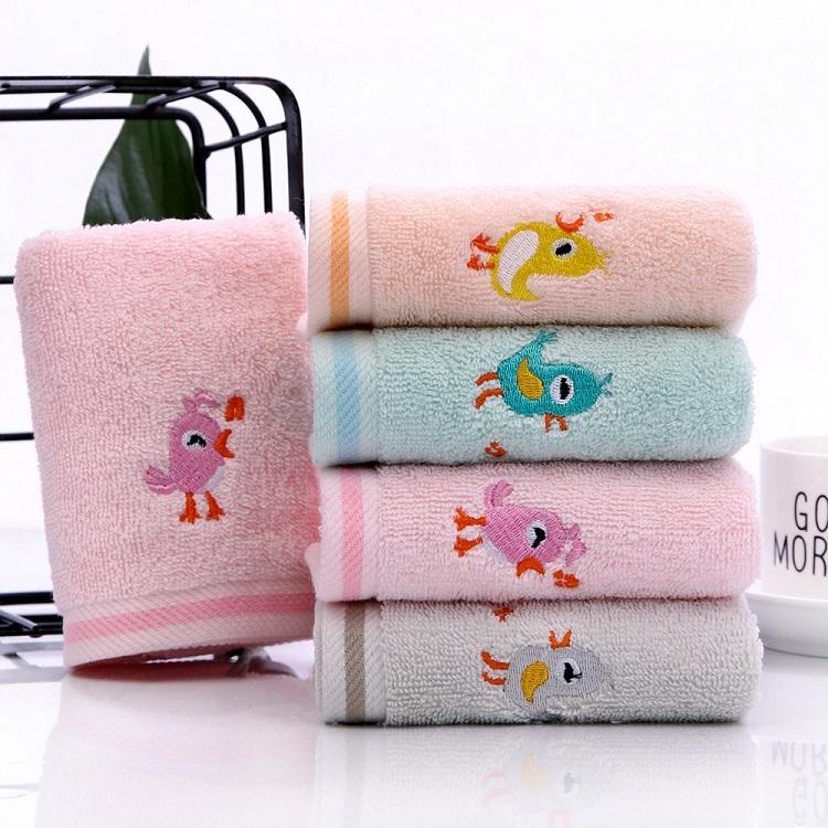 Cartoon Embroidery Towel
