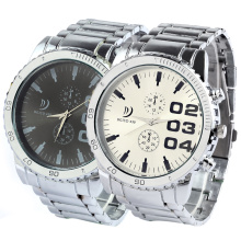 Man Stainless Steel Quartz Watch