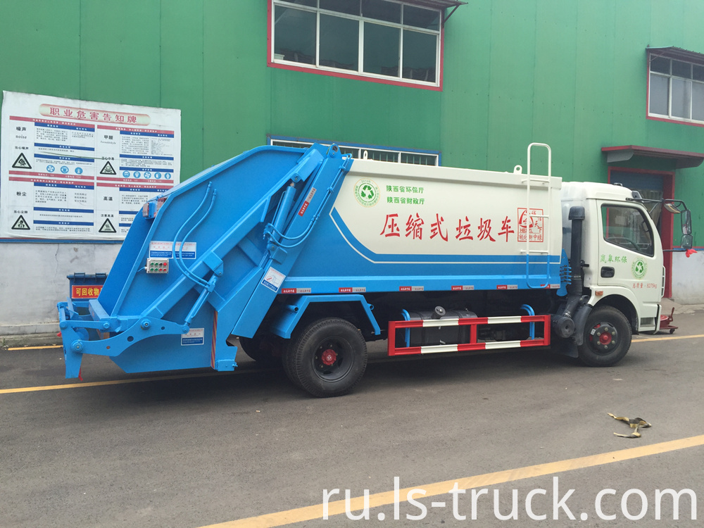 Compactor garbage truck factory (1)
