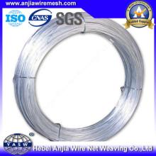 Низкоуглеродистый Electro гальванизированный железный провод с (CE и SGS)