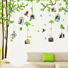 Kinder spielen Removable Home Decor Baum Wandaufkleber, DIY dekorative Wandaufkleber