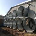 2018 sistema de ventilação industrial de venda quente montado na parede com o CE certificado