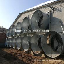 Tipo industrial pesado martelo do martelo montado ventilador de exaustão de pressão negativa do sistema de ventilação