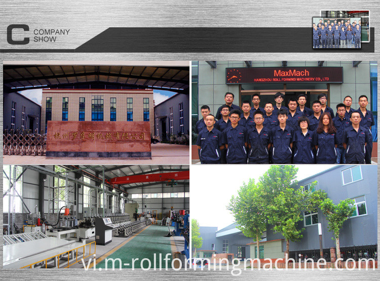 roll forming machine manufacture