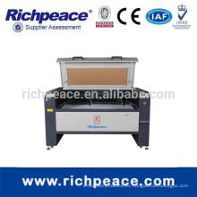 Richpeace computarizado de doble cabeza de corte láser lengraving máquina