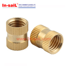 Straight Knurl and Groove Insert Nut