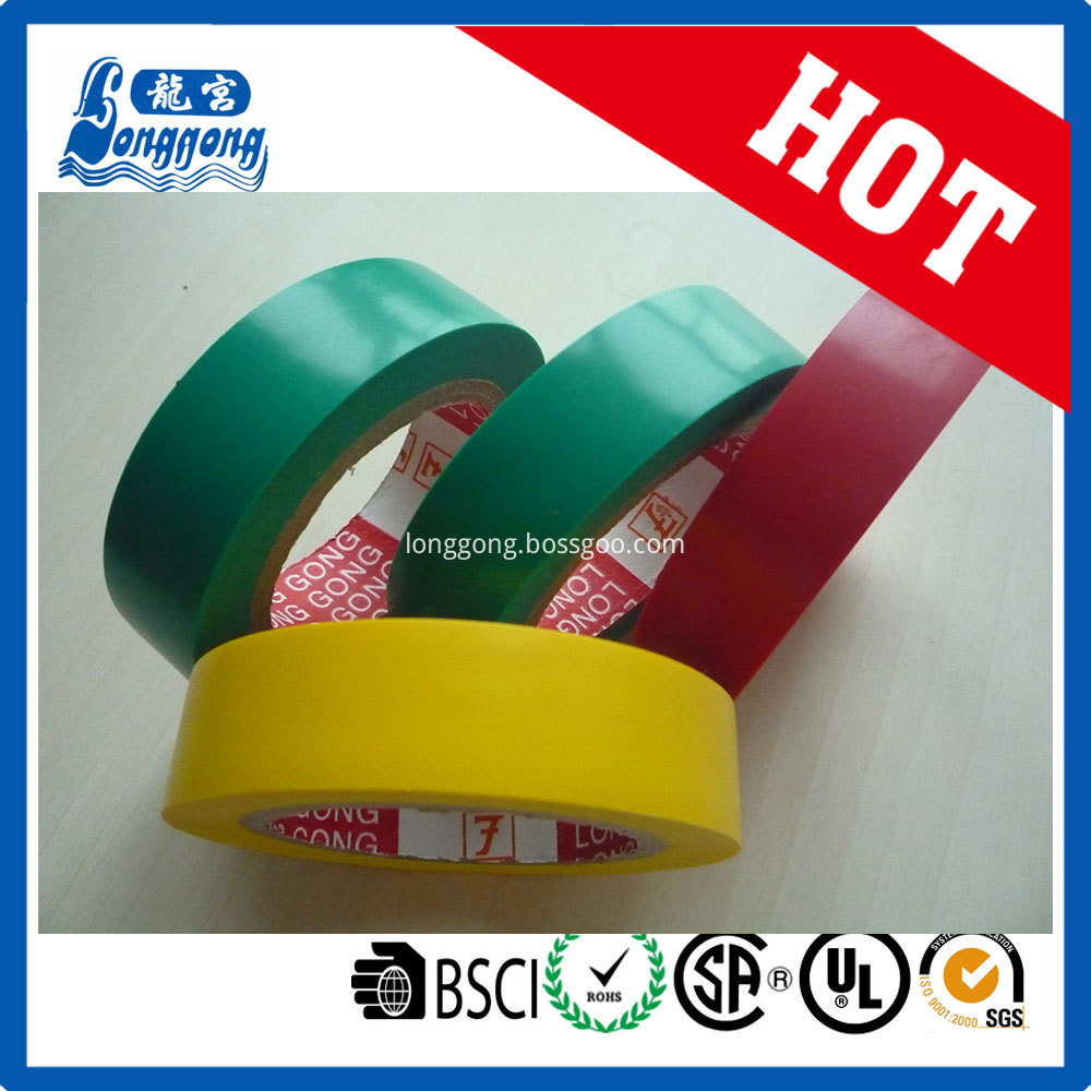 Strong Elasticity Pvc Insulation Tape