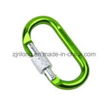Mousquetons en aluminium Snap Hook pour Chain Rigging